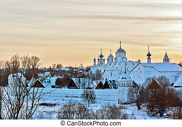 Convent of the Intercession,Suzdal, Russia - Kind on convent...