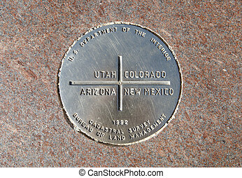 Four Corners Monument - The Four Corners is the only place...