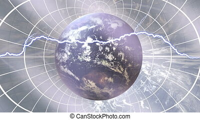 Earth abstract - Globalization