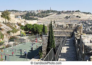 Mount of Olives in Jerusalem Israel - JER - NOV 05:Mt of...