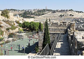 Mount of Olives in Jerusalem Israel - JER - NOV 05:Mt of...