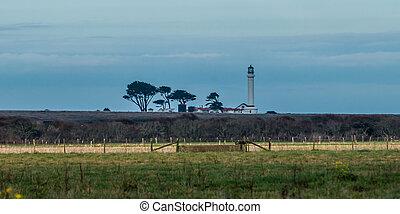 Pt. Arena Lighthouse landscape