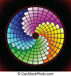 Color samples for selection - Vector illustration