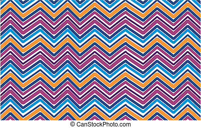 zigzag stripes - color zigzag stripes