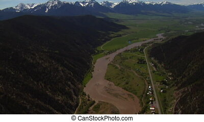 Yellowstone River near Livington Montana