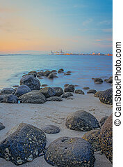 Punngol Beach #1 - Wonderful sunset view from the punggol...