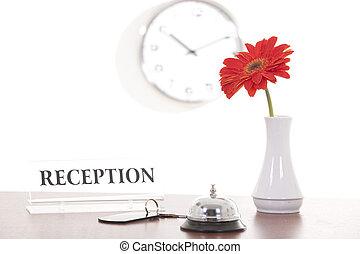 reception - hotel bell