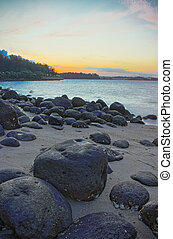 Punngol Beach #2 - Wonderful sunset view from the punggol...