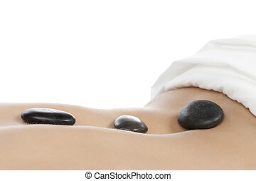 stone therapy in spa