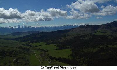 Paradise Valley near Livingston Montana