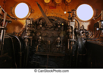 Engineers Steampunk Station - The engineers station on a...