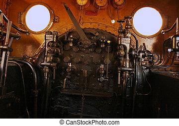steampunk, estación, Ingenieros