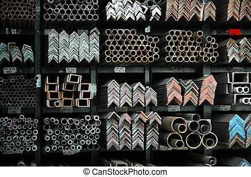 various forms and patterns of iron bars