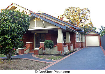 Home in a residential district of Melbourne