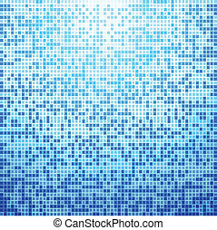 Abstract blue tile background