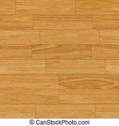 Seamless Wooden Parquet Flooring Abstract Background in...