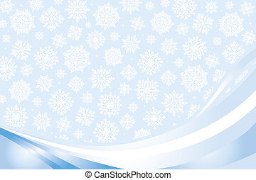pale christmas-card  background  with snowflakes