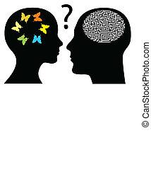 Creativity or rationality?