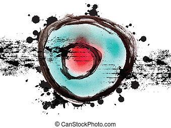 art grunge design background