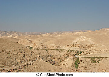View on Judea desert, Israel