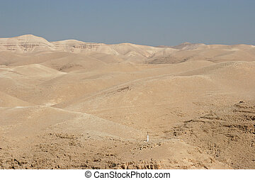 View on Cross, Judea desert, Israel