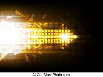 arrow abstract background design