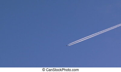 Planes in the sky - Two planes flying far away in the sky...