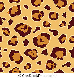 Leopard Animal Print Background - Background Illustration of...