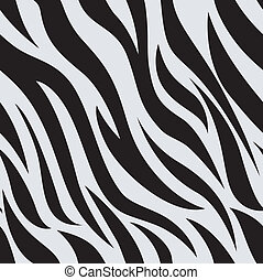 Zebra Animal Print Background - Background Illustration of...