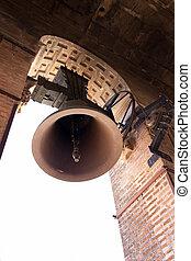 Bell in La Giralda Belfry - La Giralda belfry bell, Seville...