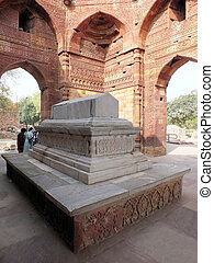 Tomb of Iltutmish, Qtub Mina - The tomb of Slave Dynasty...