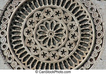 Rosette, Assisi - Rosette, saint Francis sanctuary in Assisi