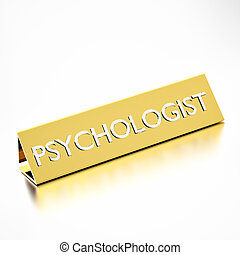 Psychologist profession - Psychologist job title on...