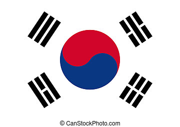 Flag of South Korea. - National flag of South Korea....