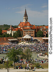 Marija Bistrica, Croatia - MARIJA BISTRICA, CROATIA - AUGUST...