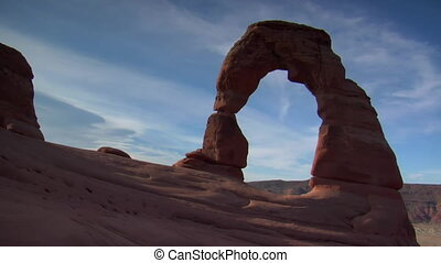 timelapse of delicate arch Arches national Park