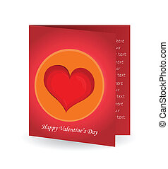 Valentine`s Day gift card