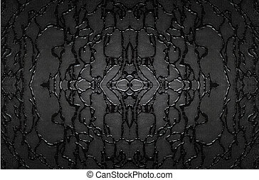 decorative glass - black white texture of decorative glass....