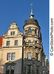 Dresden Castle (Residenzschloss or Schloss) is one of the...