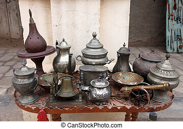 Tunisian antique shop