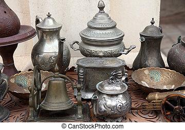 Tunisian antique shop