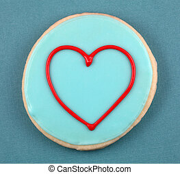 Heart Cookie - Heart frame cookie.