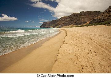 Polihale Beach, Kauai - Polihale Beach on Kauai, Hawaii