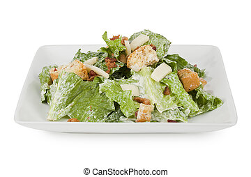 yummy serving of caesar salad - Yummy serving of Caesar...