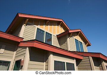 New Home Real Estate - Colorful New Home Construction...