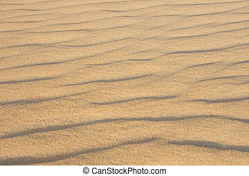 Sand in the desert of the Sahara (Egypt)