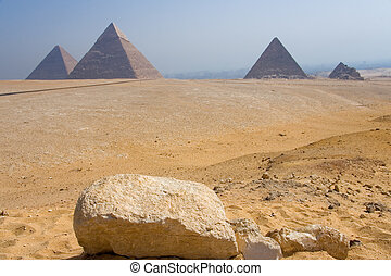 Monumental set of Giza, The Cairo (Egypt)