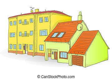 Handmade buildings