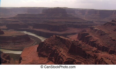 the Colorado River and dead horse point State Park Utah