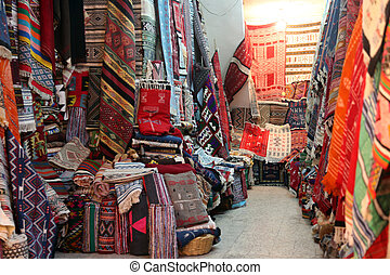 Market in Sousse, Tunisia